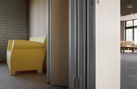 Compartimentari moderne cu pereti plianti